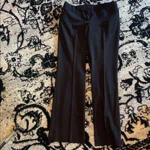 Ann Taylor LOFT black slacks work pants size 2P